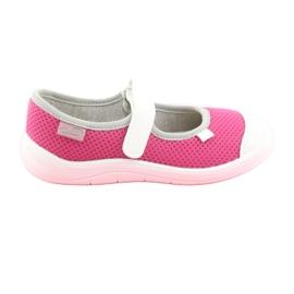 Încălțăminte pentru copii Befado 208X037 alb roz