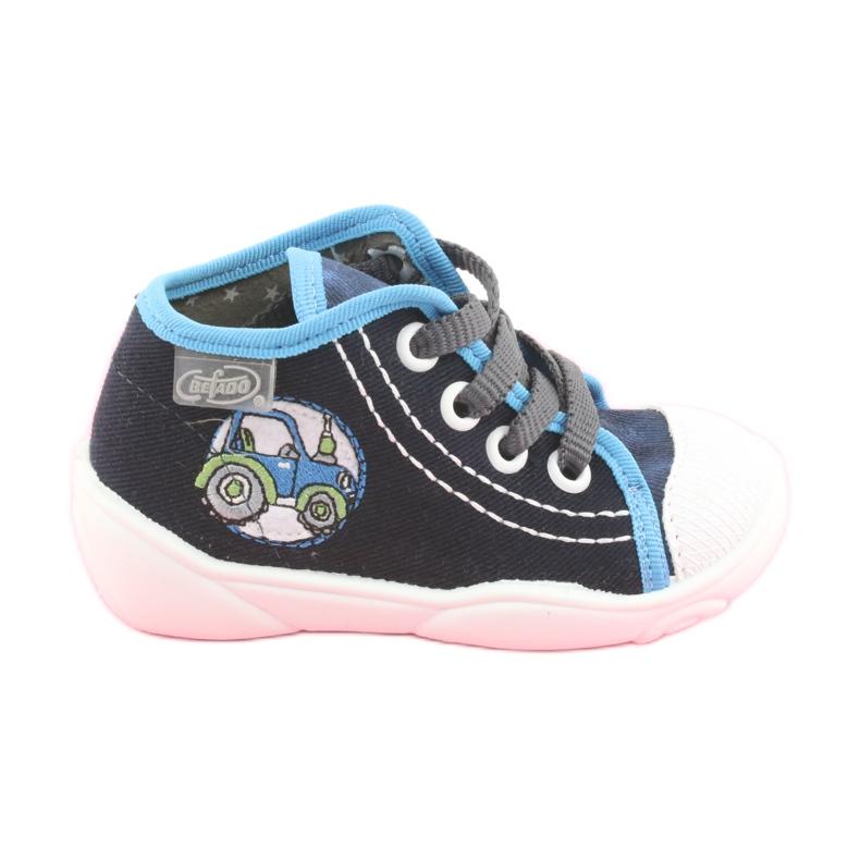 Încălțăminte pentru copii Befado 218P057 albastru marin albastru