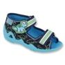 Befado pantofi pentru copii verzi 250P088