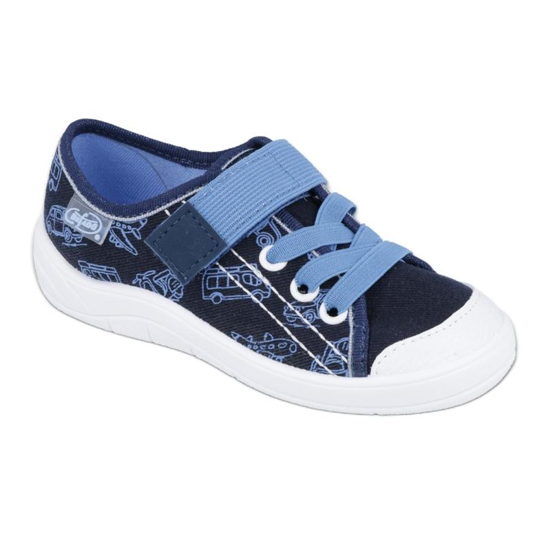 Încălțăminte pentru copii Befado 251X118 albastru marin albastru
