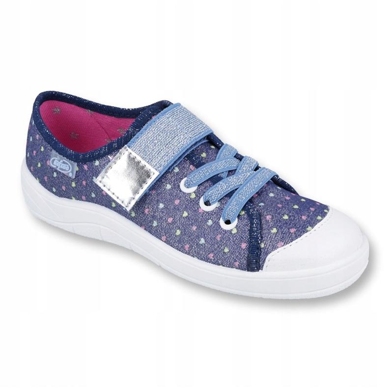 Încălțăminte pentru copii Befado 251Y140 albastru argint multicolor