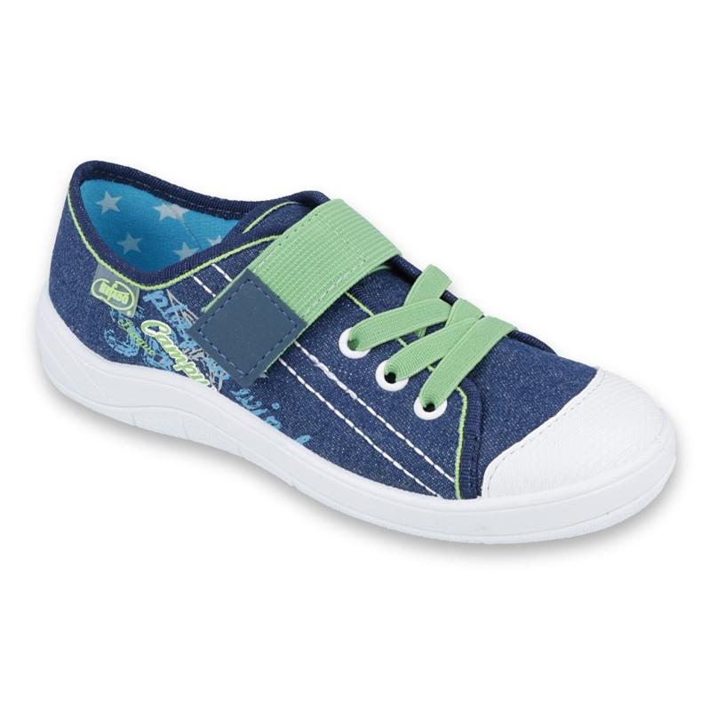 Încălțăminte pentru copii Befado 251Y131 albastru verde