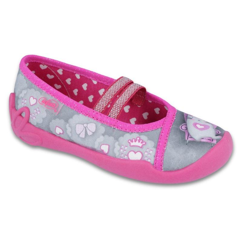 Încălțăminte pentru copii Befado 116X248 roz gri