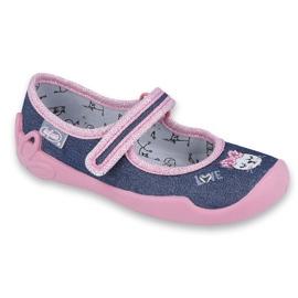 Încălțăminte pentru copii Befado 114X352 albastru marin roz
