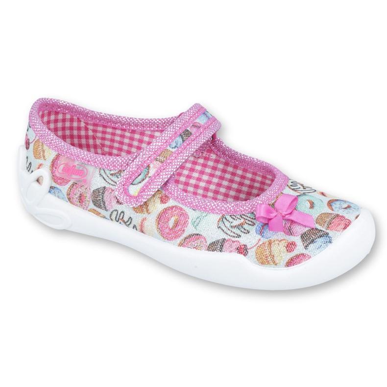 Pantofi pentru copii Befado 114X356 roz multicolor