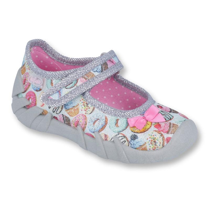 Încălțăminte pentru copii Befado 109P190 roz gri multicolor