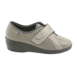 Gri Befado femei pantofi pu 032D003