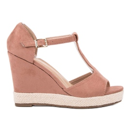 Renda Pantofi roz