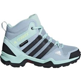 Albastru Pantofi Adidas Terrex AX2R Mid Cp Jr BC0672
