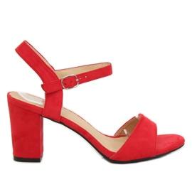 Sandale pe postul roșu FH-3M25 Roșu