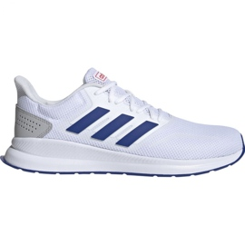 Alb Pantofi de alergat adidas Runfalcon M EF0148