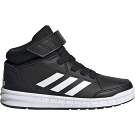 Negru Pantofi Adidas AltaSport Mid K Jr G27113