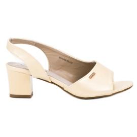Goodin galben Sandale elegante
