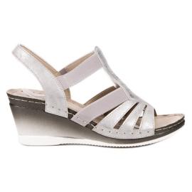 Goodin gri Slip-uri cu pantofi cu picior