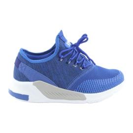 Pantofi sport bărbați DK 18470 albastru regal