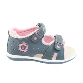 Sandale pentru fete cu denim American Club DR20