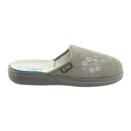 Gri Befado femei pantofi pu 132D013
