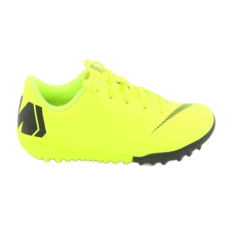 Nike Mercurial VaporX 12 Academie Tf Jr AH7353-701 Cizme pentru fotbal galben