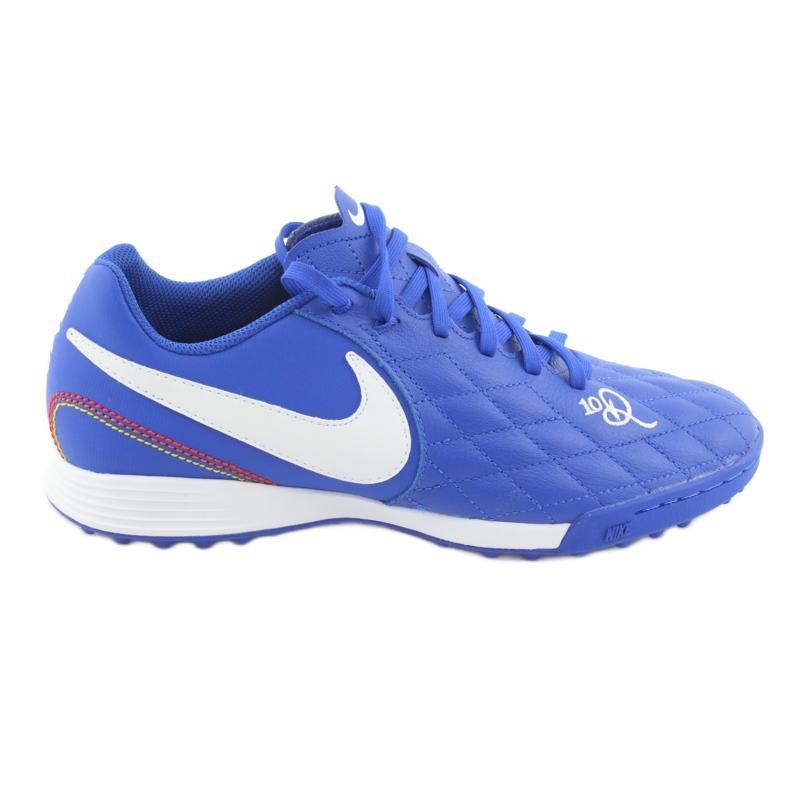 Pantofi de fotbal Nike Tiempo Legend 7 Academie 10R Tf M AQ2218-410 albastru