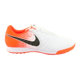Pantofi de fotbal Nike Tiempo LegendX 7 Academy Tf M AH7243-118 alb
