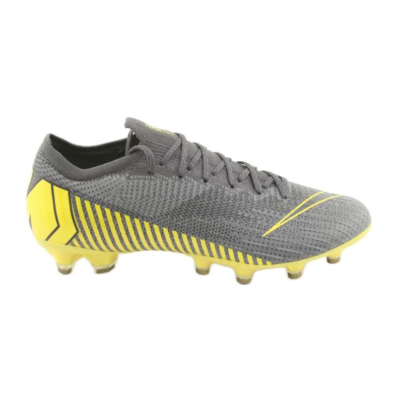 Nike Mercurial Vapor 12 Elite Ag Pro M AH7379-070 Pantofi de fotbal gri