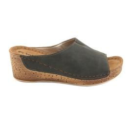 Încălțăminte pentru femei Inblu NG002 negru maro