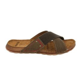Pantofi pentru bărbați Inblu GG009 maro