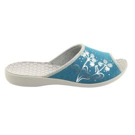 Befado femei pantofi pu 254D102 albastru