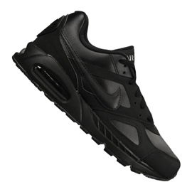Negru Nike Air Max Ivo piele M 580520-002 pantofi