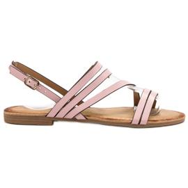 Primavera Sandale clasice roz