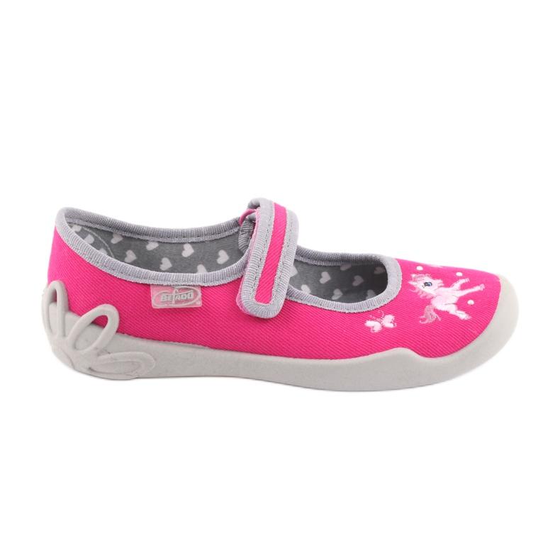 Încălțăminte pentru copii Befado 114X324 roz gri