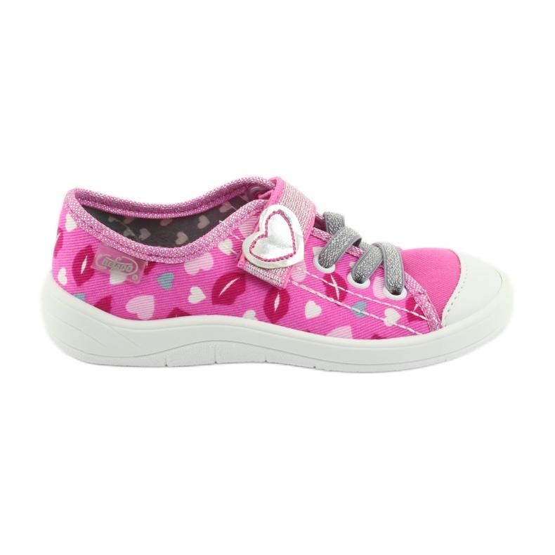 Încălțăminte pentru copii Befado 251X123 alb roz gri