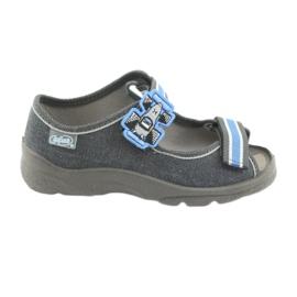 Încălțăminte pentru copii Befado 969X127 albastru gri
