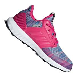Roz Adidas RapidaRun Btw Jr pantofi AH2603