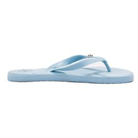 Ax Boxing albastru Flip-flops pe plajă