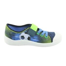 Încălțăminte pentru copii Befado 251Y121 albastru marin albastru verde