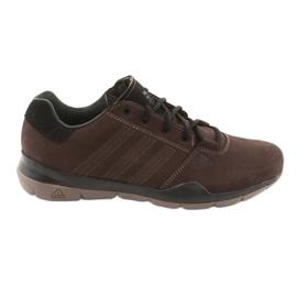 Pantofi de trekking adidas Anzit Dlx M18555 maro