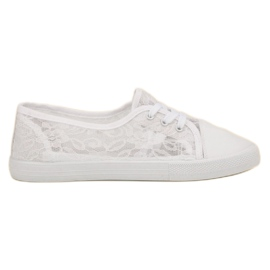 Mckeylor alb Lace Sneakers Low