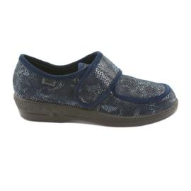 Befado femei pantofi pu 984D015 bleumarin