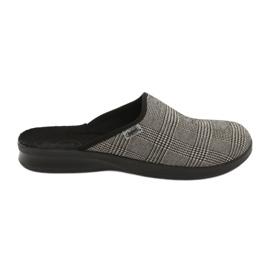 Gri Befado bărbați pantofi pu 548M021