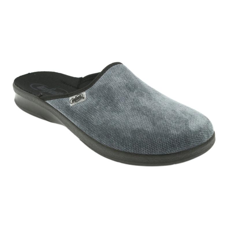 Befado bărbați pantofi pu 548M017 gri