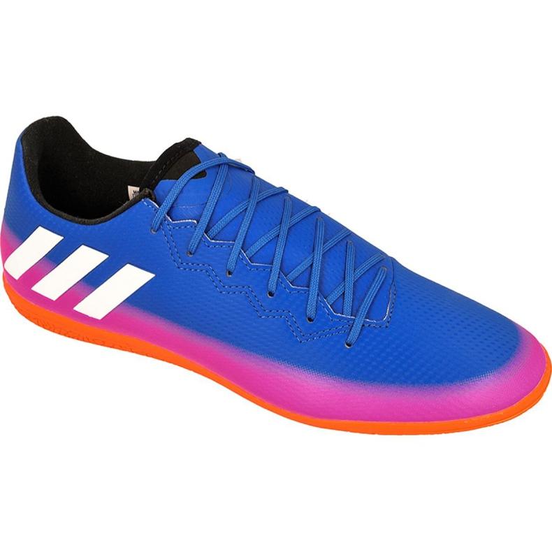 Adidas Messi 16.3 În pantofi de interior M BA9018 albastru albastru
