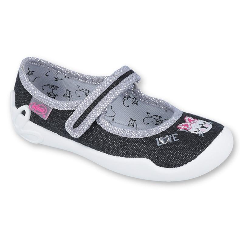 Încălțăminte pentru copii Befado 114X353 negru gri