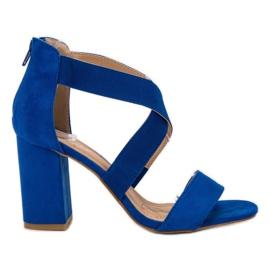 Albastru Slipper de floarea-soarelui Sandka VINCEZA