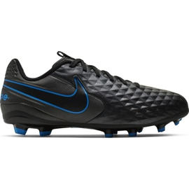 Pantofi de fotbal Nike Tiempo Legend 8 Academie FG / MG Jr AT5732 004