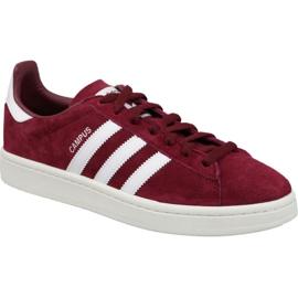 Adidas Originals Campus M BZ0087 pantofi de burgundă