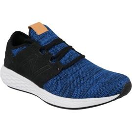 Pantofi de alergare New Balance Fresh Foam Cruz v2 M MCRUZKR2 albastru