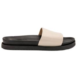 Clowse maro Bej femeile papuci