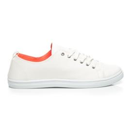Balada alb Adidasi elegant pentru femei