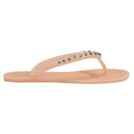 Maro Flip-flops cu ornamente VICES